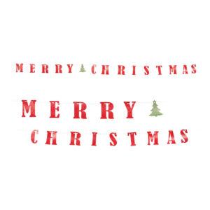 Girlang Merry Christmas - 360 cm