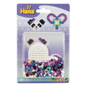 Hama Midi Small Blister Heart 350 st