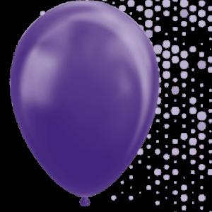 Lila ballonger 5-pack