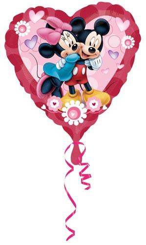 Mimmi och Musse Pigg Folieballong Jumbo