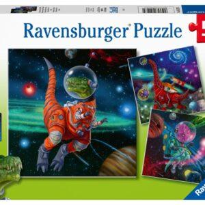 Ravensburger Dino Space Pussel 3x49-bitar