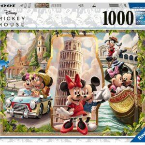 Ravensburger Disney Musse & Mimmi Pussel 1000-bitar (Semester)