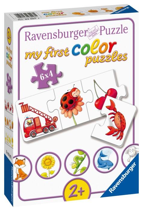 Ravensburger Pussel Alla mina färger (6x4-bitar)