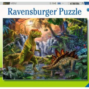 Ravensburger Pussel Dinosaurieoas 100-bitar