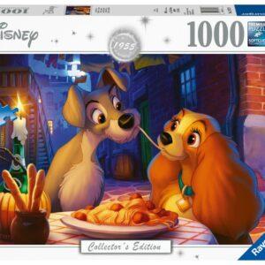 Ravensburger Pussel Disney Lady och Lufsen (1000-bitar)