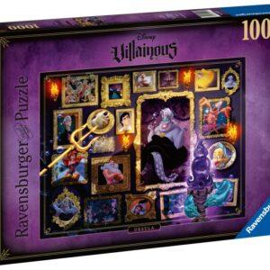 Ravensburger Pussel Disney Villainous 1000-bitar (Ursula)