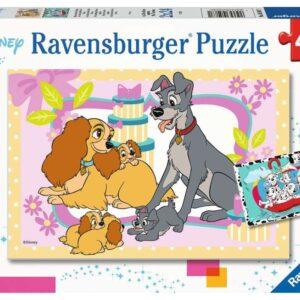 Ravensburger Pussel Disneys Favoritvalpar 2x24-bitar