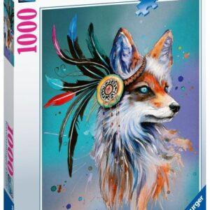 Ravensburger Pussel Fantasy Fox (1000-bitar)