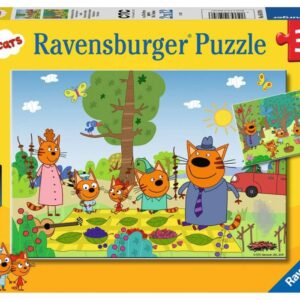 Ravensburger Pussel Katternas familjedag (2x12-bitar)