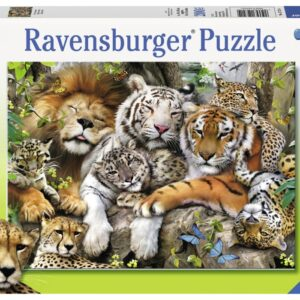 Ravensburger Pussel Stora katters vila 200-bitar