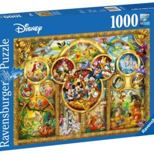 Ravensburger The Best Disney Themes Pussel 1000-bitar