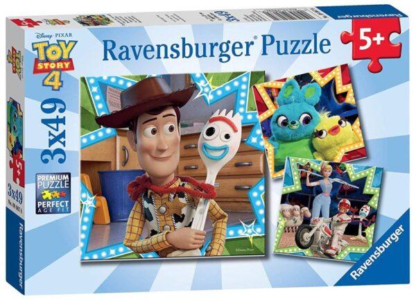 Ravensburger Toy Story 4 Pussel 3x49-bitar