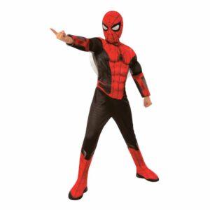 Spiderman Far From Home Deluxe Barn Maskeraddräkt - Medium