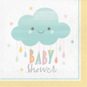 Sunshine Babyshower Servetter