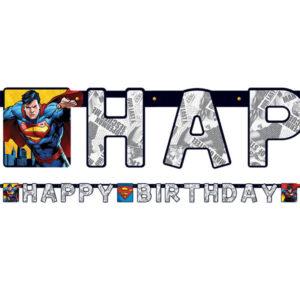Superman Happy Birthday Girlang