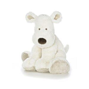 Teddykompaniet Teddy Cream Hund (Vit) 55cm