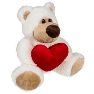 Vit Björn med Hjärta