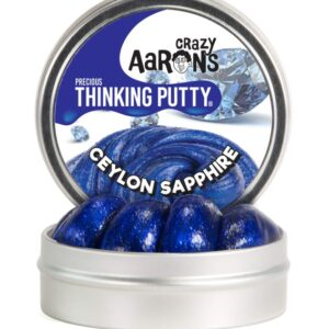 Crazy Aaron's Thinking Slime 45g (Sapphire Glitter)