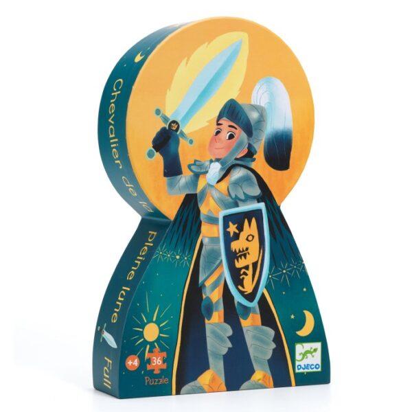 Djeco Full Moon Knight Pussel 36-bitar