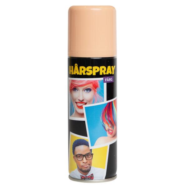 Hårspray, färg pastell peach