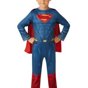 Man of Steel Superman Barn Maskeraddräkt (Small (3-4 år))