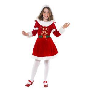 Miss Santa Barn Maskeraddräkt - Large