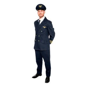 Pilot Deluxe Maskeraddräkt - XX-Large