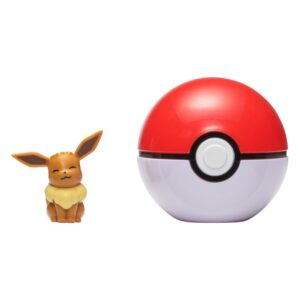 Pokemon Clip 'N Go (Eevee + Pokeball)
