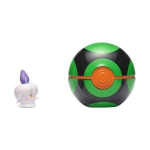 Pokemon Clip 'N Go (Litwick + Dusk Ball)