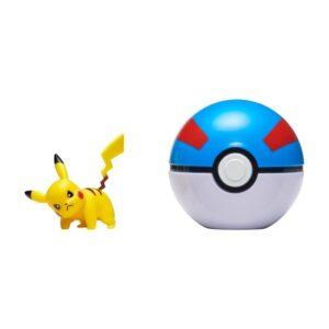 Pokemon Clip 'N Go (Pikachu + Greatboll)