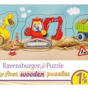 Ravensburger Knoppussel Maskiner (3-bitar)