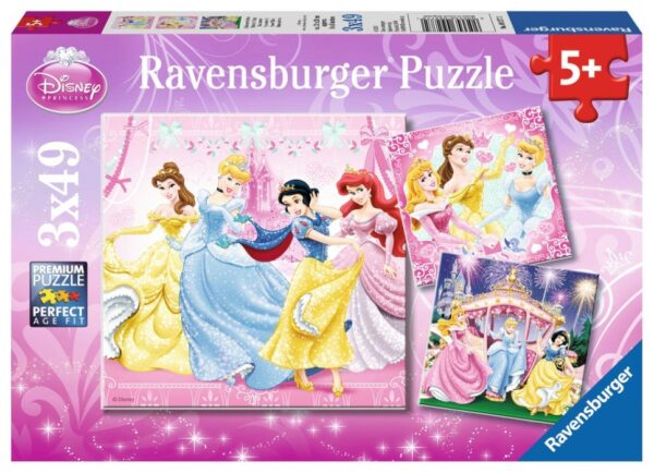 Ravensburger Pussel Disney Princess (3x49 bitar)