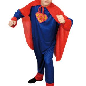 Superman Barn Maskeraddräkt Budget (Small)