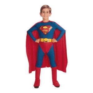 Superman Barn Maskeraddräkt - Medium