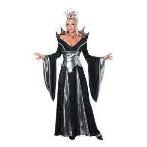 Svart Drottning Maskeraddräkt - Large
