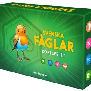 Svenska fåglar kortspelet