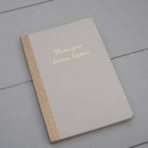 Anteckningsbok Hardcover - Vit