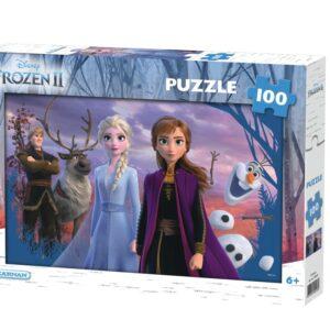 Disney Frozen 2 Pussel 100-bitar
