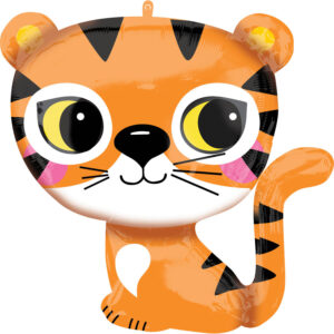 Folieballong Tiger