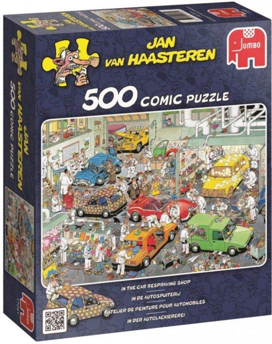 Jan Van Haasteren Pussel Billackering (500-bitar)