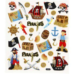 Klistermärken Pirater