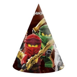 Partyhattar, Lego Ninjago 6 st