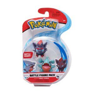 Pokémon Battlefigur 2-Pack (Gible & Zorua)