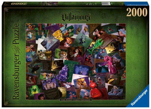 Ravensburger Pussel Disney Villainous 2000-bitar (All Villains)
