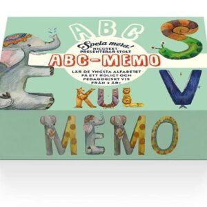 Spela mera: ABC-Memo
