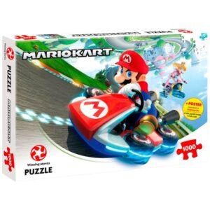 Super Mario Kart Funracer Pussel 1000-bitar