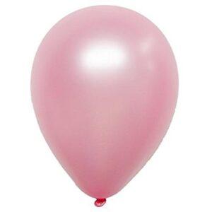 50 pack ballonger pärlemor rosa