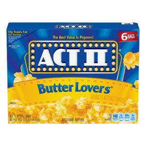 ACT II Butter Lovers Popcorn - 234 gram