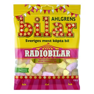 Ahlgrens Radiobilar - 100 gram