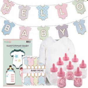 Babypaket för Babyshowern Rosa